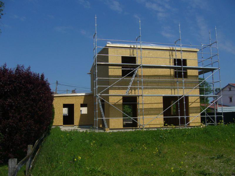 Constructeur maison ossature bois maison en bois bbc lorraine 54 55 57 88 - Construction modulaire contemporaine ...