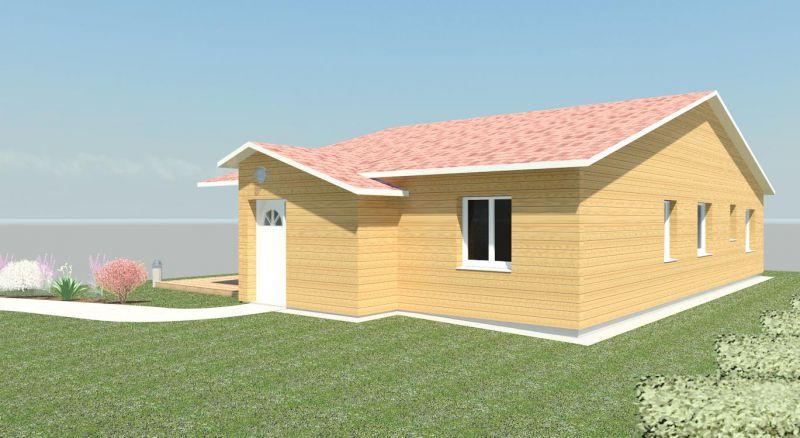 Constructeur maison ossature bois maison en bois bbc lorraine 54 55 57 88 biobati lorraine for Maison bois sud ouest