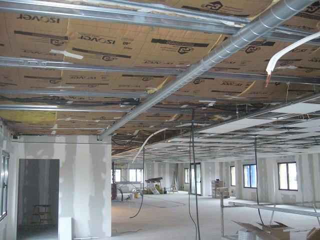 Batiment basse consommation batiment industriel nancy - Faux plafond industriel ...