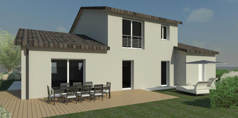 Maison en brique maison passive rt2012 nancy lorraine biobati lorraine - Consommation gaz maison individuelle ...